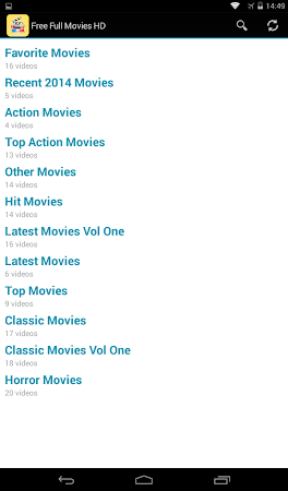 Free Full Movies HD 2014 3 screenshot 463183