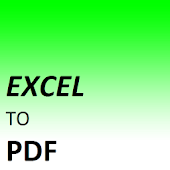 CONVERTER FOR EXCEL TO PDF