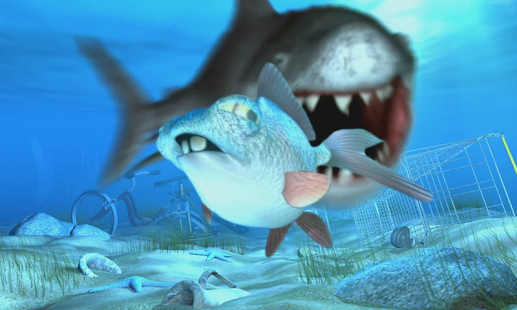 Talking George Unlucky Fish - screenshot thumbnail