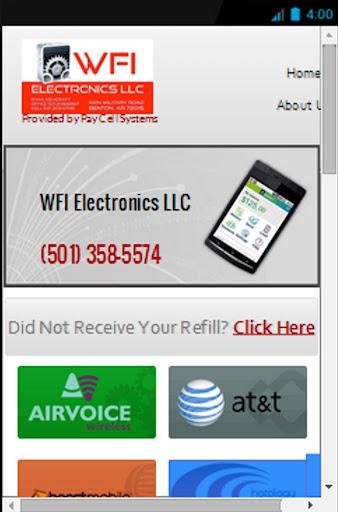 WFI Prepaid Wireless Refills