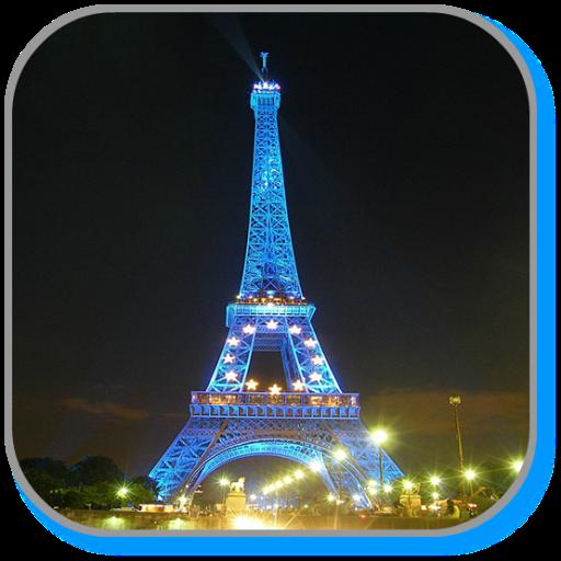 Night Paris Live Wallpaper LOGO-APP點子