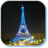 Night Paris Live Wallpaper