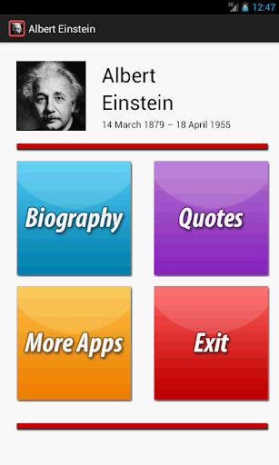 A. Einstein Biography Quotes