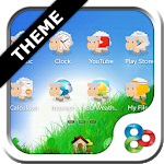 Sheep GO Launcher EX Theme