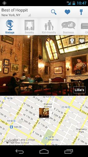 Hoppit: Restaurants by Mood