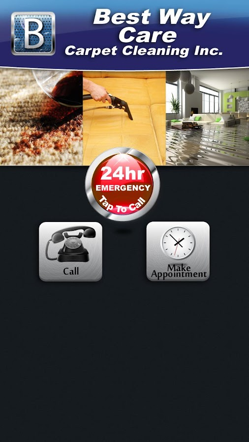 Best Way Care Carpet Cleaning - screenshot