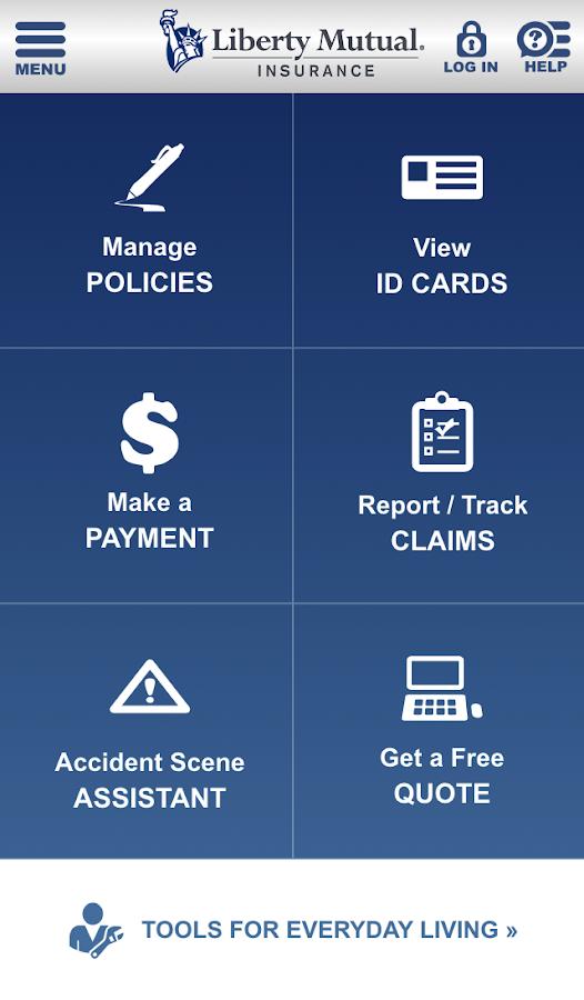 Liberty Mutual Mobile - screenshot