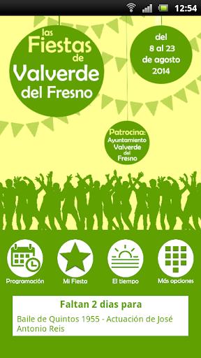Valverde del Fresno 2014