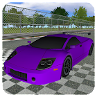 Supercar Racing simulator 3D icon