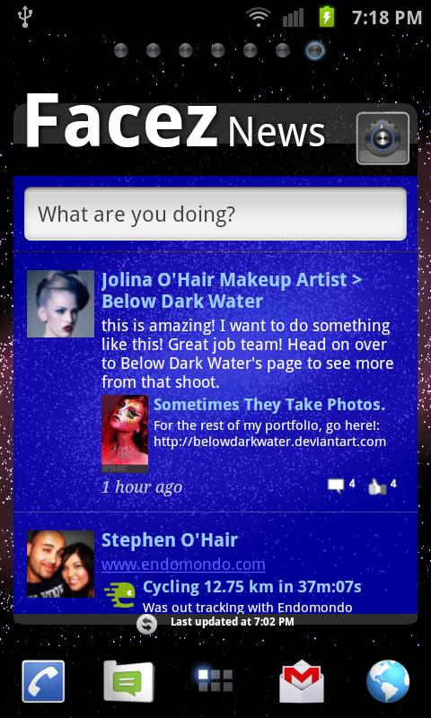 Facez for Facebook- screenshot