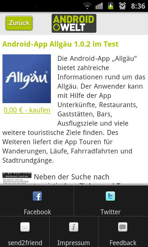 AndroidWelt Online - screenshot