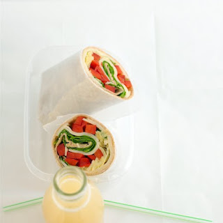 Spinach and Artichoke Wrap