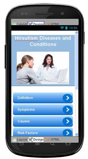 Hirsutism Disease Symptoms