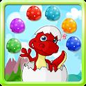 Dinosaur Bubble Shooter icon