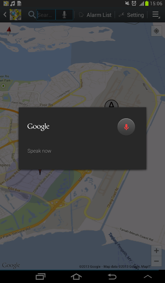 Location Alarm Pro - screenshot