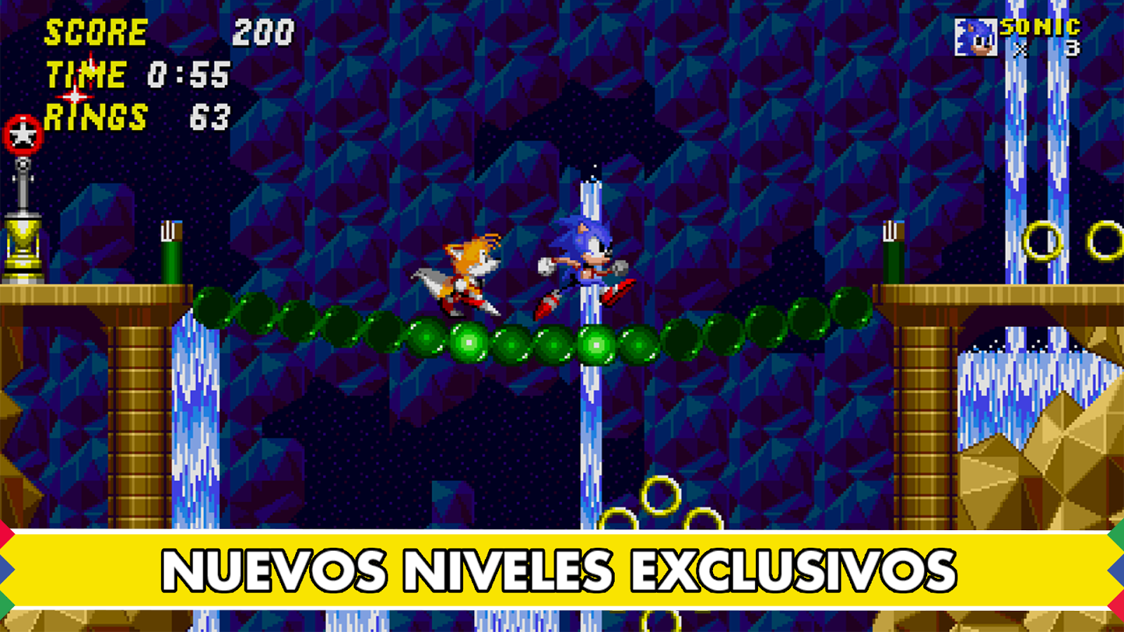 Sonic The Hedgehog 2™: captura de pantalla