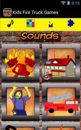 Kids Fire Truck Games