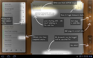 Screenshot of Beautiful Notes