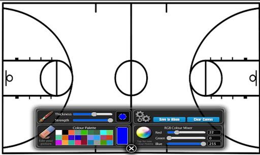 Basketball Coach Diagram Lite