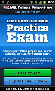 AMA Learner's Practice Exam - screenshot thumbnail