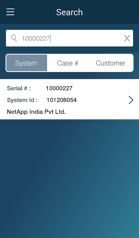 NetApp Support - screenshot