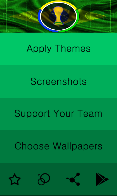 World Cup Brazil 2014 IconPack - screenshot