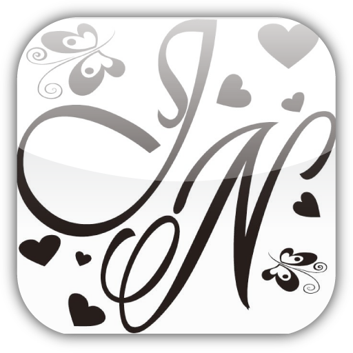 Jacqueline & Neil -Wedding App LOGO-APP點子