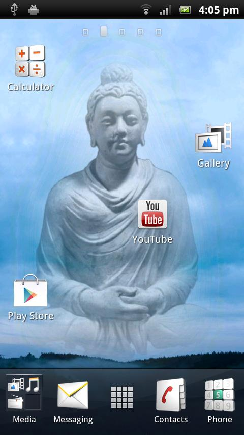 Buddha Live Wallpaper- screenshot