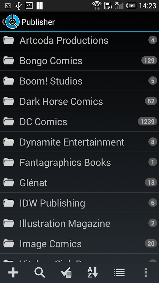 CLZ Comics - Comic Database - screenshot