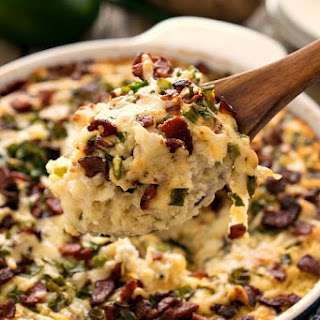 Loaded Mashed Potato Casserole.