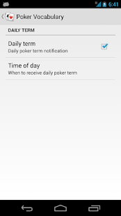 Poker Vocabulary- screenshot thumbnail