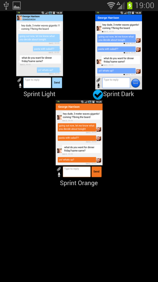 Sprint Enterprise Messenger - screenshot