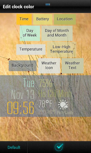 Beautiful Clock Widget Pro v1.6 APK