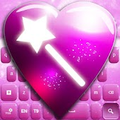 Pink Fairy GO Keyboard