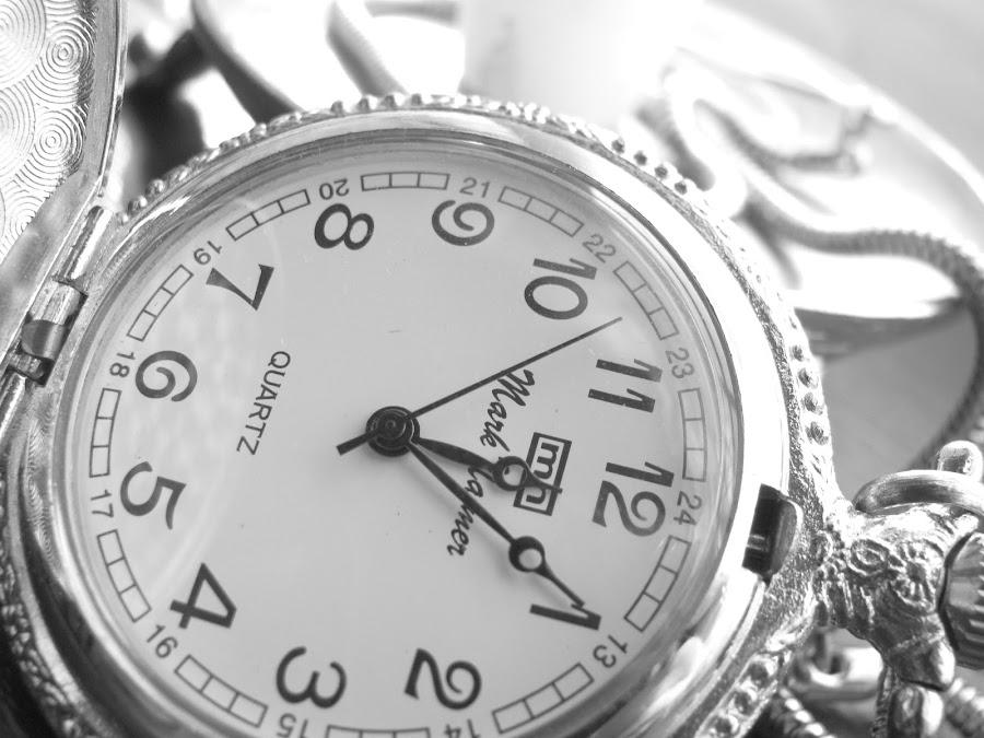 Pocket Watch  by Slavic Rya - Black & White Objects & Still Life ( black and white )