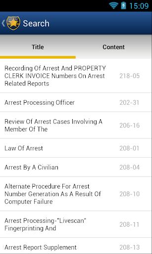 玩書籍App|NYPD Patrol Guide免費|APP試玩