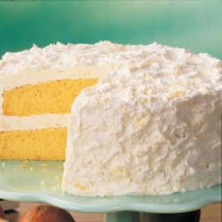 Pineapple Layer Cake.