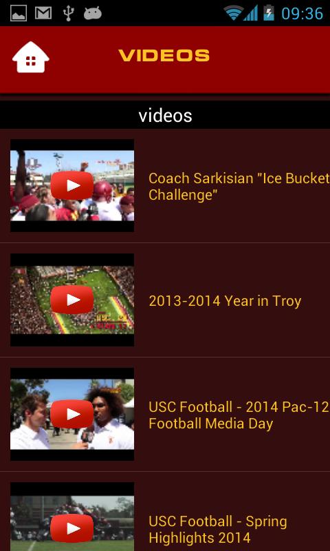USC Trojans GameDay - screenshot