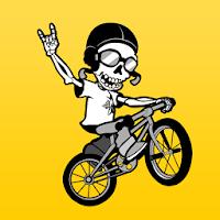 Skeleton Stunt Rider - MTB BMX 1.56