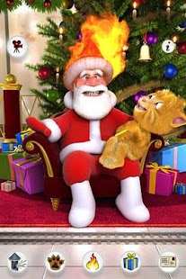 Talking Santa meets Ginger - screenshot thumbnail