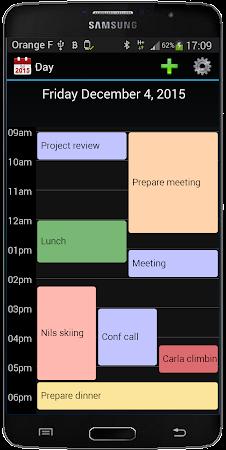 Calendar 2016 3.1 screenshot 410733