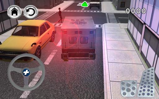 救急車の救急シミュレーター