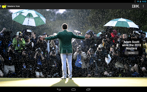 The Masters Golf Tournament - screenshot thumbnail