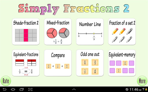 Simply Fractions 2 Lite