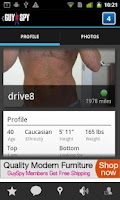 Screenshot of GuySpy gay dating & video chat