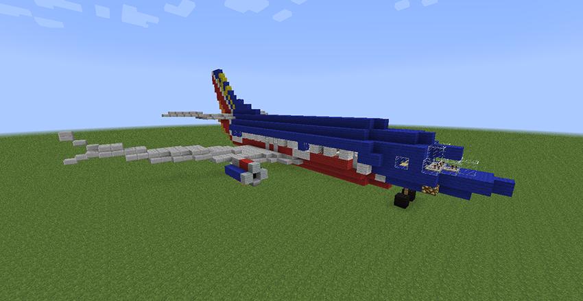 minecraft plane by yazur - photo #8
