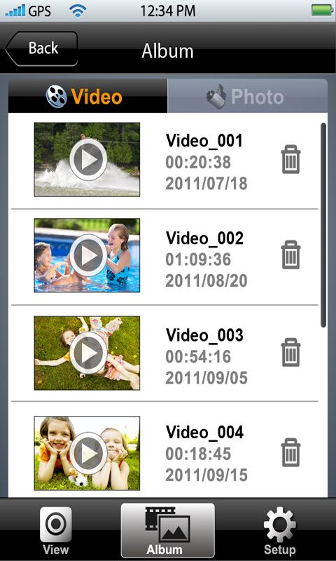 WiVideo-T - screenshot