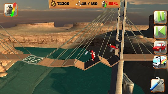 Bridge Constructor Playground- screenshot thumbnail