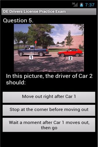Delaware Practice Drivers Test- screenshot