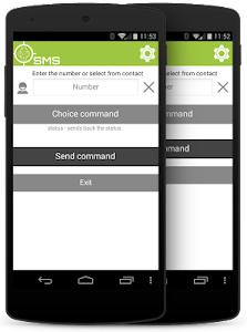 SMS client for AndroidLost screenshot 1